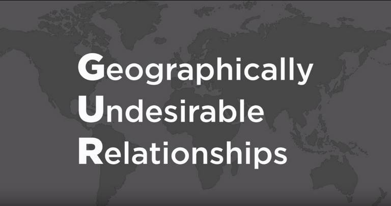 Geographically Undesirable Relationships